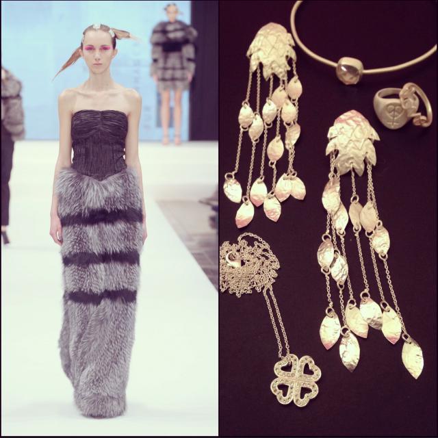 Set på catwalken – nu smykkestylet….